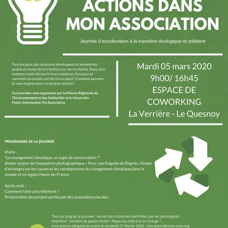 La transition en action dans mon association
