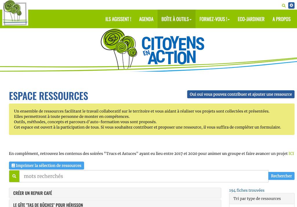 screenshot for theme Terre (celui utilisé pour ce site)